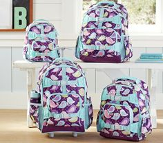 Mackenzie Plum Bird Backpacks | Pottery Barn Kids