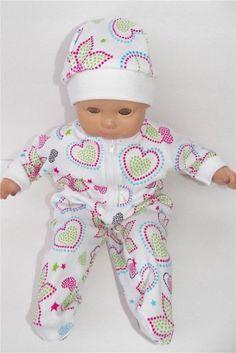 "Deer /& Pine Cones Pajama//Fleece Robe//Slippers Set 18/"" Doll Clothes American Girl"