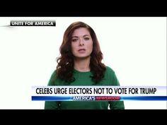 WATCH  Celebrities Urge Electoral Voters to Reject Donald Trump