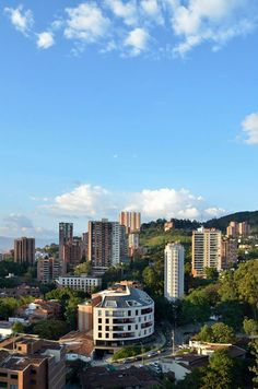 Medellín - El Poblado - Santacoloma Building San Francisco Skyline, Travel, Beautiful Landscapes, Countries, Colombia, Cities, Viajes, Destinations, Traveling
