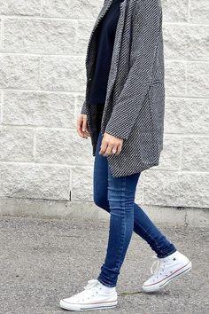 Mejores Casual Zapatillas Imágenes Blancas 10 Outfits Converse De YtwRnqWxdU