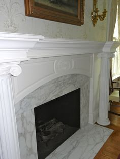 Custom Mantel by Thomas Homes, Inc.