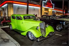 1933 Ford Coupe Whittier, CA Ruby's Friday Night Cruise 2014