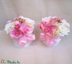 Rózsaszín szülőköszöntő virág doboz (Decoflor) - Meska.hu Crown, Jewelry, Corona, Jewlery, Jewerly, Schmuck, Jewels, Jewelery, Crowns