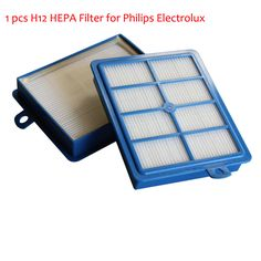 Vacuum Cleaner Parts H12 HEPA Filter For Philips Electrolux EFH12W AEF12W FC8031 EL012W H13 Filters