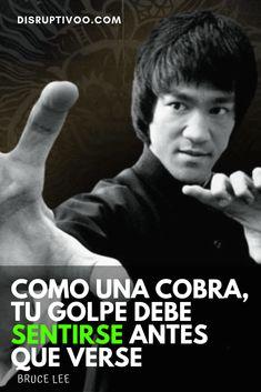 Imágenes de Bruce Lee con Frases