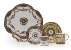 TWO SEVRES CUPS AND SAUCERS<br><P>1766 and 1783</P> | Lot | Sotheby's