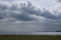 Clouds above the IJsselmeer, The Netherlands