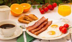 Resultado de imagen de desayuno americano completo