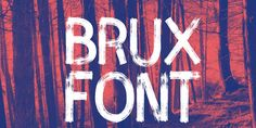 brux-bold-brush-font