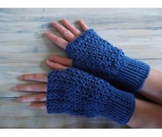 (PDF PATTERN) Cable Cuff Fingerless Mittens