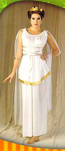 Diy greek goddess costume made from a plastic tablecloth athena costume athena costume adult solutioingenieria Choice Image