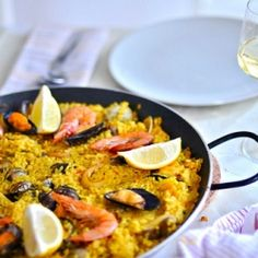 Paella is most famous rice based spanish dish. It can be cooked with sea food, fish, vegetables or a mix of all of them.