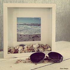 ZUSA-DESIGN | Wees creatief met schelpen #diy #craft #interieur #beach…