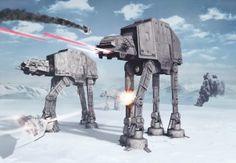 8-481 Obrazová fototapeta Komar Star Wars Battle of Hoth, velikost 368 x 254 cm | kupsi-tapety.cz