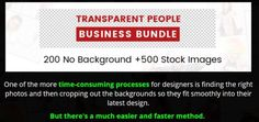Transparent People Business Bundle Software Review - Best Library of Cutout Images Consist of 200 No Background + 500 Stock Images So You Can Simply Pick a Photo and Place It Right in Their Current Project