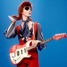 Remembering David Bowie's stellar career - in a list of the Top 20 guitars he's used over the years.