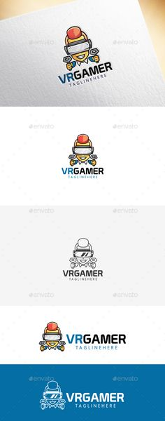 VR Gamer Logo Template - Humans Logo Templates Download here : https://graphicriver.net/item/vr-gamer-logo-template/19262854?s_rank=29&ref=Al-fatih