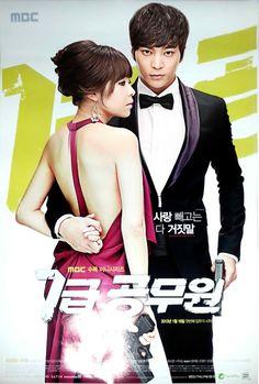 Level 7 Civil Servant ♥ Choi Kang Hee as Kim Seo Won / Kim Kyung Ja ♥ Joo Won as Han Gil Ro / Han Pil Hoon