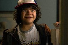 Tell me this kid isn't the most adorable thing in the world, I dare you. Dustin from Stranger Things