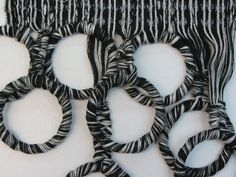 Constructed textiles for fashion design with contrast, pattern & texture; textile manipulation // Alice Richardson