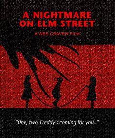 A Nightmare on Elm Street Minimalist Movie by SuddenGravityPosters