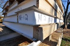 Structural Insulated Panels - or SIPs - are an efficient and practical way to build a residential or small commercial project. An introduction to Structurally Insulated Panels Sip House, Sips Panels, Structural Insulated Panels, Earthship, Prefab, Building Materials, Custom Homes, Building A House