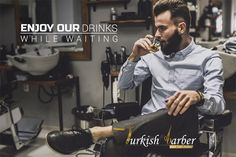 Enjoy a drink whilst you wait for your appointment! Make an appointment Address: Nizamiye Complex Corner of Le Roux Avenue Midrand Barbershop, Your Hair, Waiting, Hair Cuts, Corner, Drinks, Style, Barber Shop, Haircuts