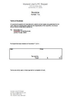 download a free invoice template for microsoft word. for people, Invoice examples