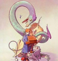 Newt Scamander (Fantastic Beasts)