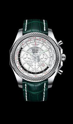 For those who view travel as an art of living, Breitling for Bentley has created the Bentley Unitime, a worldtime chronograph powered by an innovative Manufacture Breitling movement with a patente. Breitling Watches, Rolex Watches For Men, Fine Watches, Sport Watches, Cool Watches, Wrist Watches, Men's Watches, Breitling Navitimer, Breitling Superocean Heritage