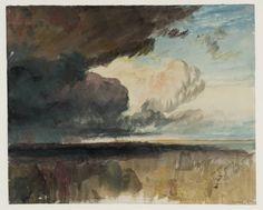 Joseph Mallord William Turner - Heavy Dark Clouds (c.1822)