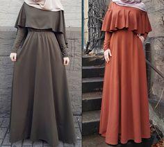Abaya Style 292241463317358493 - Latest Fashion Cape Style Abaya with Hijab Fashion – Girls Hijab Style & Hijab Fashion Ideas Source by Islamic Fashion, Muslim Fashion, Modest Fashion, Fashion Dresses, Ladies Fashion, Womens Fashion, Mode Abaya, Mode Hijab, Abaya Fashion