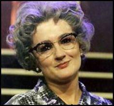 Caroline Aherne as Mrs Merton-RIP