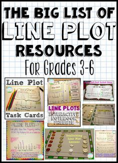 Line Plots. When I even think of the words, I shudder. It's one of the trickiest concepts for students. What do those Xs mean? The numbe...