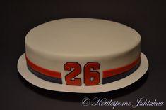 Pelinumerokakku Birthday Cake, Desserts, Food, Tailgate Desserts, Deserts, Birthday Cakes, Essen, Postres, Meals