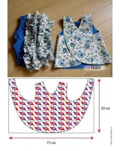 Photo by Costura Criativa on February Baby Knitting Patterns, Kids Dress Patterns, Kids Clothes Patterns, Clothing Patterns, Baby Doll Clothes, Sewing Clothes, Fashion Kids, Baby Frocks Designs, Baby Dress Design