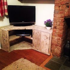 New bespoke corner unit made entirely out of upcycled scaffold boards for enquiries please visit www.branddesignsonline.co.uk