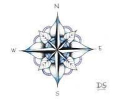 Maybe a lotus compass is it