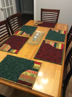 Placemats for Meals on Wheels Christmas Dinners!