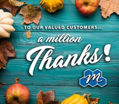 This Thanksgiving holiday, all of us at Miracle Method want to thank each and every one of our valued customers nationwide since 1979 – all million of you! We wish you a warm and wonderful Thanksgiving!