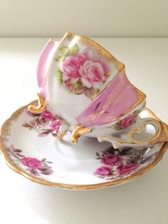 Vintage Footed Lusterware Fred Roberts China