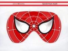 Printable Mask,Spider-Man,party