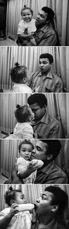 50-photos-rares-de-Mohammed-Ali-cassius-clay-75-ans-3-maryum 50 photos rares de Mohamed Ali pour célébrer son 75eme anniversaire