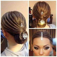 Ballroom/Latin hair