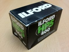 Ilford HP5 Plus. This is a well-loved, traditional emulsion. The expiry date is May, 1994.