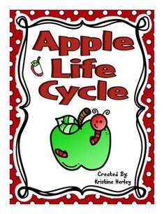 This resource contains 12 different activities focused on the life cycle of an apple. All of the activities are available in COL0R and BLACK & WHITE!!!**Please check out the preview for more details!!!