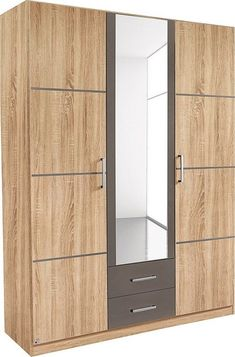 Kleiderschrank »Limburg« Wardrobe Internal Design, Wall Wardrobe Design, Wardrobe Door Designs, Wardrobe Room, Wardrobe Furniture, Bedroom Closet Design, Bedroom Furniture Design, Home Room Design, Closet Designs