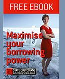 Learn how to maximise your borrowing power with our FREE eBook! First Home Buyer, Buying Your First Home, Free Ebooks, The Borrowers, Marketing, Learning, Studying, Teaching, Onderwijs