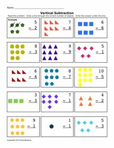 FREE worksheets, create your own worksheets, games. Free Math Worksheets, 1st Grade Worksheets, Kindergarten Math Worksheets, Math Activities, Subtraction Worksheets, Montessori Math, Math School, Autism Classroom, Lesson Plan Templates